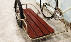 A boutique bike design company from Denmark, KP Cykler, is tackling this problem with their new sidecar bicycle.