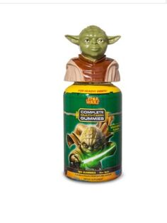 Love Star Wars? Get Yoda vitamins in limited topper bottle!