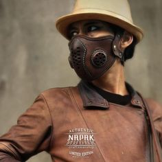 Masque Halloween, Leather Mask, Mouth Mask, Diy Mask, Fashion Face Mask, Leather Working, Mask Design, Leather Craft, Filters