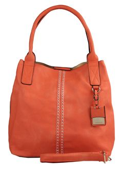 NEW ARRIVAL SUMMER 2013 CHELSEA ORANGE LEATHER HOBO BAG