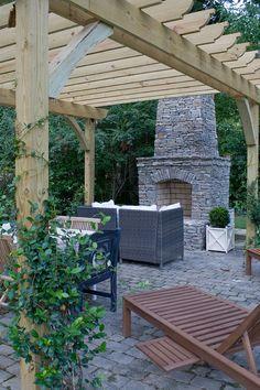 just a little backyard fireplace