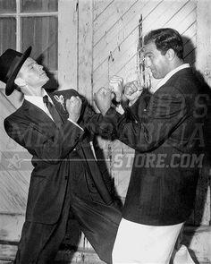 Frank Sinatra Rocky Marciano boxing stance 8x10 11x14 16x20 photo 747 - Size 16x20 by Your Sports Memorabilia Store. $24.99