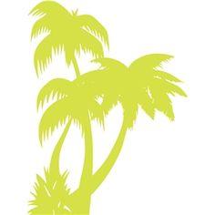 Silhouette Design Store - View Design #19294: palm trees
