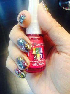 Nail Art with Flormar Nail Art ❤#flormarcambodia #flormarprofessionalmakeup #flormarnailenamel