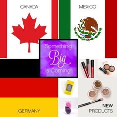 Coming Soon from Younique!! March 2015! New Markets - Canada, Mexico, & Germany and New Products - Bronzer, Lip Stain, Blending Buds, Makeup Remover, Eye Shadow, & a Eye Shadow Brush!!!www.Natural3DBeautybyJimie.com