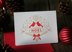 The NOEL letterpress card is now available in the Brave Shop! http://thebraveshop.bigcartel.com/product/noel-letterpress-holiday-card