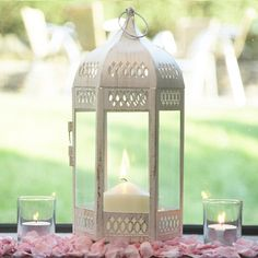 Lantern for candles