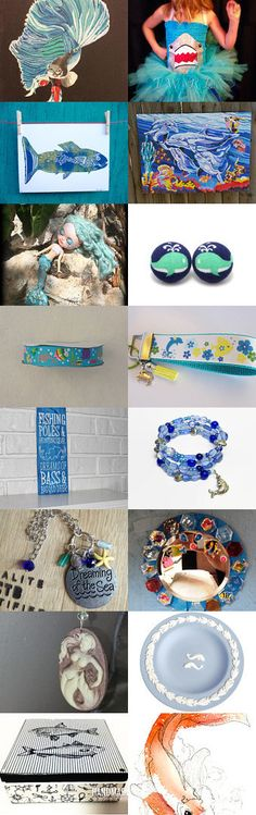 Something Seems Fishy by Julie and Kate on Etsy--Pinned+with+TreasuryPin.com