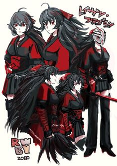 ZOBO誤字脱字マン @zobo_rwby raven branwen  Rwby Anime, Rwby Fanart, Rwby Raven, Qrow Branwen, Rwby Bumblebee, Red Like Roses, Rwby Characters, Blake Belladonna, Team Rwby