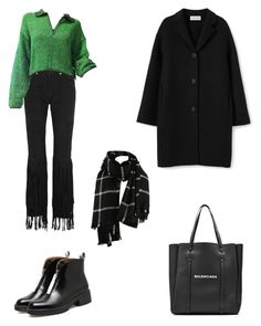"""Outfit"" by lilyhastings98 on Polyvore featuring moda, McQ by Alexander McQueen, Jean-Paul Gaultier, WithChic ve Balenciaga"