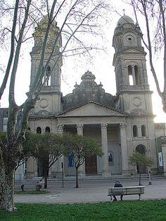Iglesia La Virgen del Rosario(patrona de la ciuda). Gualeguaychu, Argentina