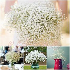 Artificial Baby'S Breath Gypsophila Silk Flowers Plant Wedding Party Home Decor | eBay