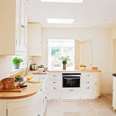 Neutral painted kitchen | Kitchen decorating | Ideal Home | Housetohome.co.uk