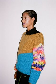 In love with this jumper from Buenos Aires designer Vanesa Krongold's AW'15 La Cumbresita collection. ph Martin Pisotti.