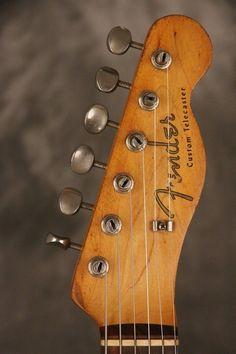original 1960 Fender CUSTOM TELECASTER Sunburst SLAB BOARD!!! pre-CBS!!!   eBay