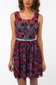 $39.99 Pins and Needles Trellis Dress  #UrbanOutfitters