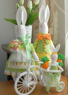 Dolls Tilda handmade.  Order Love-Carrot.  Tatiana Salomatova.  Arts and crafts fair.  Bunny tilde, family gift