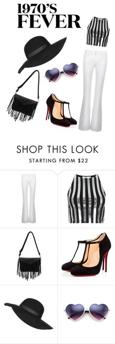 """""""Fevahhh"""" by anne-marie-jackson on Polyvore featuring Tory Burch, Bundy & Webster, Christian Louboutin, Topshop, women's clothing, women's fashion, women, female, woman and misses"""