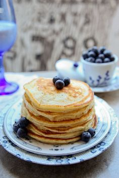 Overnight Buttermilk Pancakes | The Daily Dish