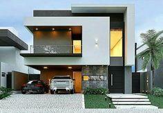68 Ideas For Exterior Facade Design Style Modern Exterior House Designs, Modern Architecture House, Modern House Plans, Architecture Design, Exterior Design, Modern Bungalow Exterior, Plans Architecture, Architecture Diagrams, Architecture Portfolio