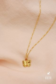 Our Mariposa necklace will make your heart flutter. We love the sweet size and textured chain. Initial Necklace, Gold Necklace, Heart Flutter, Butterfly Necklace, Dainty Jewelry, Gold Filled Chain, Detail, Sweet, Silver