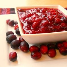 Cranberry Sauce Recipe - This basic homemade cranberry sauce is the perfect topping for Thanksgiving turkey.