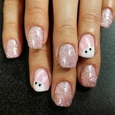 Inspiring Easter Nails Designs 2018 ★ See more: http://glaminati.com/easter-nails-designs/ #nailart
