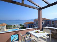 View of Aeolis Apartments & Studios, Double Room, Studio S, Wanderlust Travel, Apartments, Balcony, Patio, Outdoor Decor, Blog, Home Decor