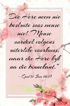 Inspirational Qoutes, Motivational, Afrikaans Quotes, Living Water, Bible Quotes, Verses, Prayers, Wisdom, Diy