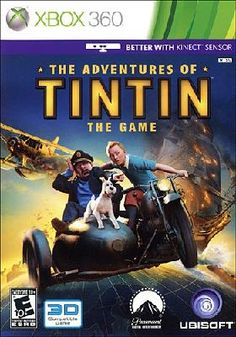 XBOX 360 THE ADVENTURES OF TINTIN THE GAME
