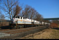 RailPictures.Net Photo: 2045 Delaware Lackawanna MLW M420 at Portland, Pennsylvania by Tracy Antz