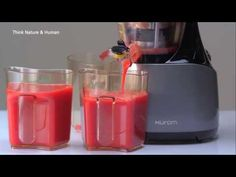 Hurom : About Slow Juicer & Health - YouTube