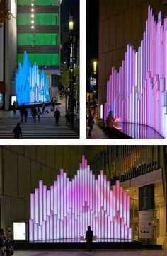 Crystal Aqua Trees by Torafu Architects