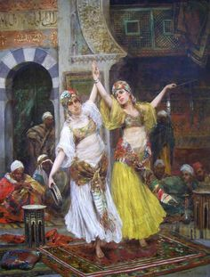F abio Fabbi [1861-1906] one of the most famous and commercially successful Italian artists  of the Orientalists.  Fabio Fabbi was born ...