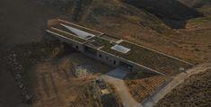 Maison Aloni, Île d'Antiparos, Grèce | 27 maisons souterraines à couper le souffle