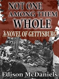 NOT ONE AMONG THEM WHOLE: A Novel of Gettysburg  From the mind of Edison McDaniels comes this astonishing & harrowing #novel of the surgeons at work amid the chaos and carnage of that great battle. Quite simply the best #historical fiction of the Civil War since Cold Mountain & The Killer Angels. Available in ebook and trade paperback. http://www.amazon.com/dp/B00AP7QGHO/ref=cm_sw_r_pi_dp_ne7krb13DTRQ8