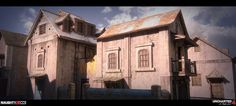 ArtStation - Uncharted 4: City Chase Modeling Part2, Rogelio Olguin