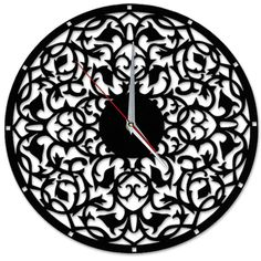 Acril wall clock  $80