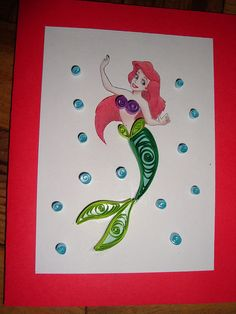 Quilling - Mermaid