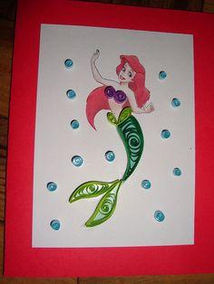 Quilling - Mermaid
