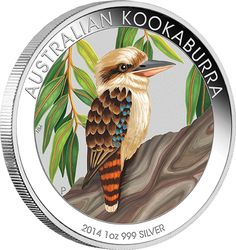 2014 ANDA Show Australian Kookaburra Silver Coin. This year's Melbourne ANDA Show Special features the spectacular Australian Kookaburra design. Australian Money, Australian Birds, Bullion Coins, Silver Bullion, Coin Art, Gold Money, Mint Coins, Gold And Silver Coins, Coins For Sale