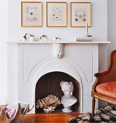 fireplaces, a simple nest