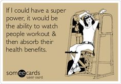 LOL, I so wish I had this super power. :-)