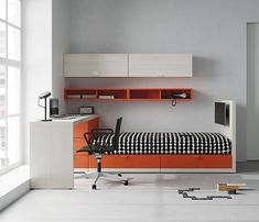 YOUTH BEDROOMS 23 - Designer Kids beds from JJP Muebles ✓ all information ✓ high-resolution images ✓ CADs ✓ catalogues ✓ contact information ✓. Smart Furniture, Deco Furniture, Furniture Design, Bedroom Themes, Bedroom Decor, Home Room Design, Teenage Room, Room Planning, Kid Beds