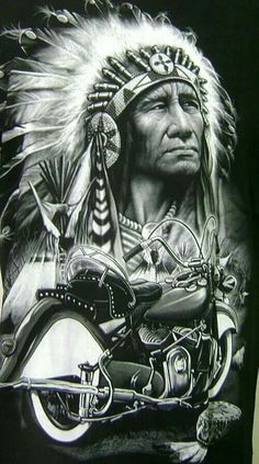 Indian motorcycles world Native American Pictures, Native American Artwork, American Indian Art, American Indians, Red Indian, Native Indian, Native Art, Indian Motorbike, Indian Motorcycles