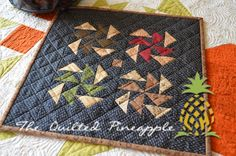 Whit Little Bites QuiltWhat a Beautiful Day!Mini Puddle JumpingTemecula Quilt Co. Summer Sew-A-Long