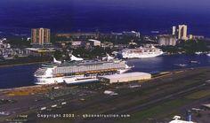 Pan American pier in San Juan. I know it well.