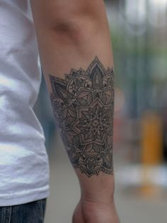 mandala tattoo / Thomas Hooper at Saved Tattoo #yestattoo #tattoo #tattoos #tattooed #ink #tattoolove