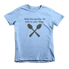 May the Spoons Be Ever In Your Favor Kids' Shirt