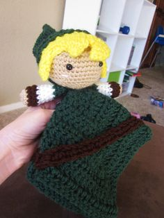 Crochet Pattern Download - Link Lovey (Legend of Zelda)